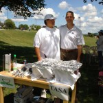 Kenneth Diaz of Filipino food booth TASA at York City Central Market, 2013 picnic sponsor, poses with Cong. Scott Perry.