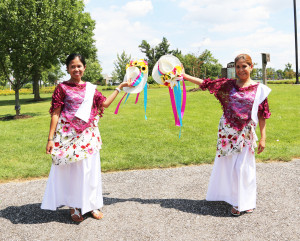For the 2nd year members of the Philippine American Heritage Council Dance Troupe perform, at the 4th annual Heritage Picnic